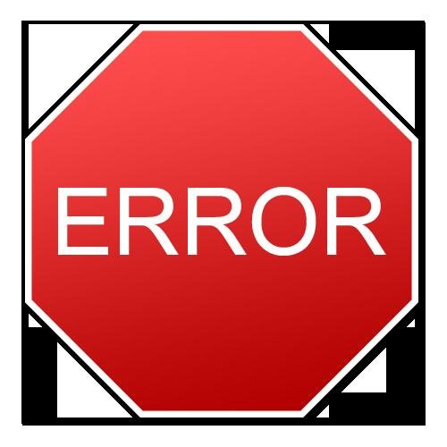 Error: Processing